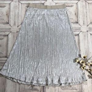 Lane Bryant Skirt Holiday Shimmery